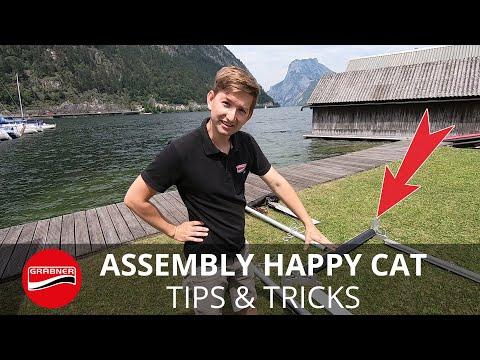 Aufbau/assembly HAPPY CAT
