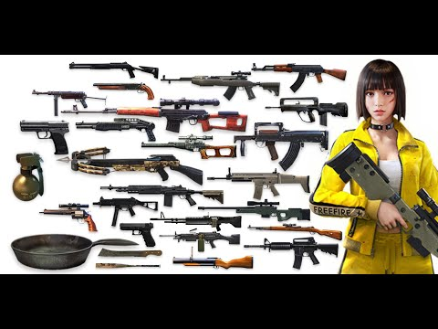 Mostrando Todas Las Armas De Free Fire Youtube