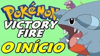 Pokémon Victory Fire (Detonado - Parte 1) - O Início com Gible e Ekans