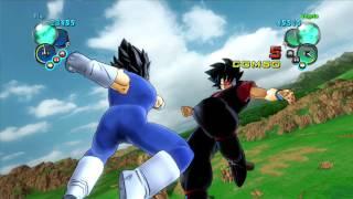 Dragonball Z: Ultimate Tenkaichi(Xbox 360) - Flip vs Goku & Vegeta