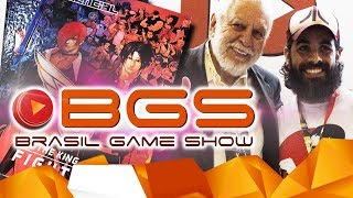 Rolê na BRASIL GAME SHOW 2017 (BGS) | Jogos retrô, indies, etc!