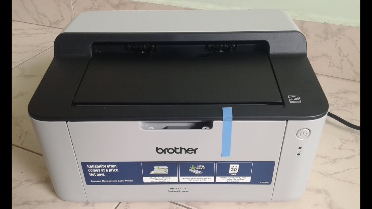 Printer installation (Brother HL-1111) on Ubuntu - YouTube
