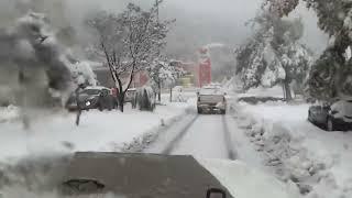 Цфат, Израиль в снегу. שלג ב צפת 2013(Снег, глубиной 1-1,5 метра в Цфате., 2013-12-15T08:00:27.000Z)