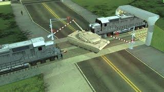 GTA: San Andreas [PC] Crazy Trains Mod (CLEO)