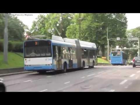 Trolleybus in Tallinn, Estonia