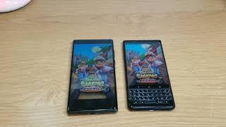 OUKITEL MIX 2 vs BlackBerry KEYone Apps Opening Comparison