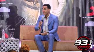 Romeo Santos On Working with Drake, Nicki Minaj and Marc Anthony