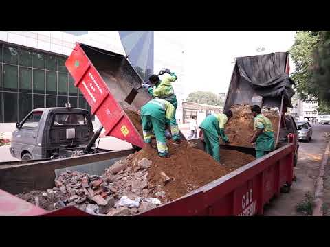 Construction and Demolition Waste Disposal Management in NDMC Area