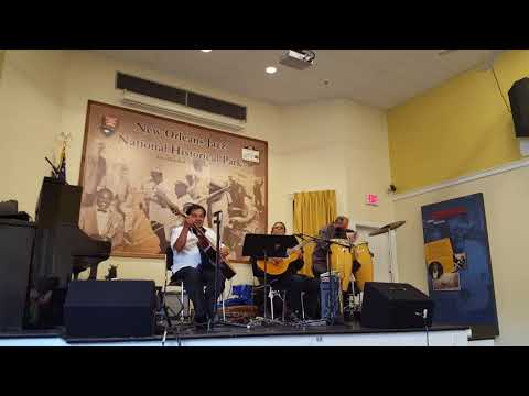 Paky Saavedra Trio at the New Orleans Jazz National Historical Park