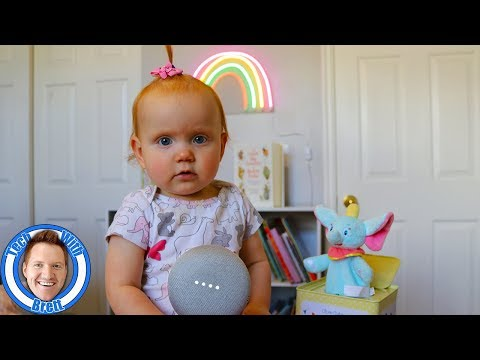 google-home-in-the-babies-room
