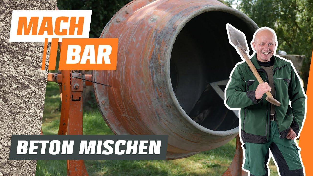 Beton Mischen Obi