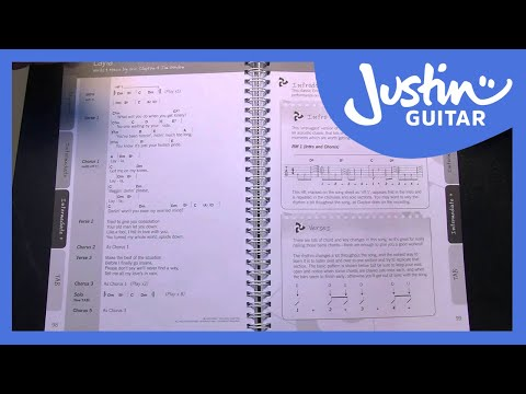 The Justinguitar Acoustic Songbook Promo  PR103