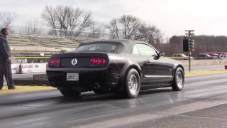 Mustang GT 3V Convertible - 9.97 1/4 Mile Pass!