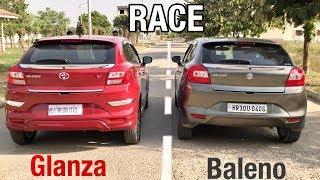 Tagdi Race : Glanza Vs Baleno | Toyota Glanza ka Dil Toota 💔 Video