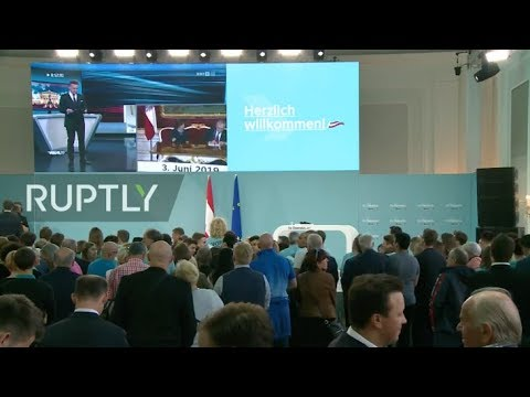 LIVE from OVP headquarters on Austrian parliamentary election night