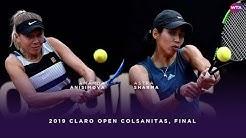 Amanda Anisimova vs. Astra Sharma   2019 Claro Open Colsanitas Final   WTA Highlights