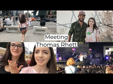 Meeting Thomas Rhett!!