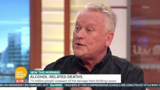 Former TV Presenter Ed Mitchell On His Struggles With Alcohol | Good Morning Britain