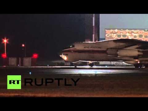 Второй борт МЧС РФ с телами жертв авиакатастрофы в Египте прилетел в Санкт-Петербург