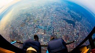 Warszawa 360 z wysokości 2500 metrów! - WARSAW ON AIR