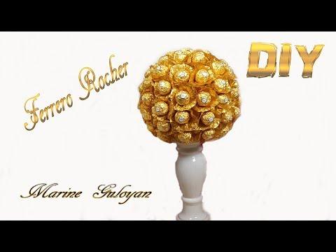 Огромный шар из конфет Ferrero Roshe ✔ Marine DIY Guloyan✔
