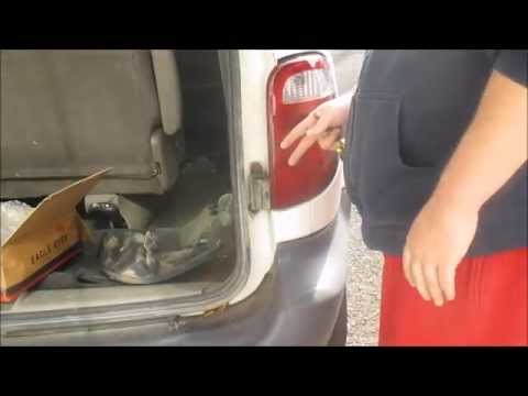 Dodge Caravan Taillight Embly Replacement