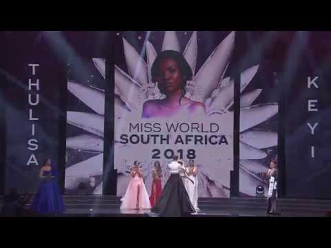 Miss World South Africa 2018 Thulisa Keyi