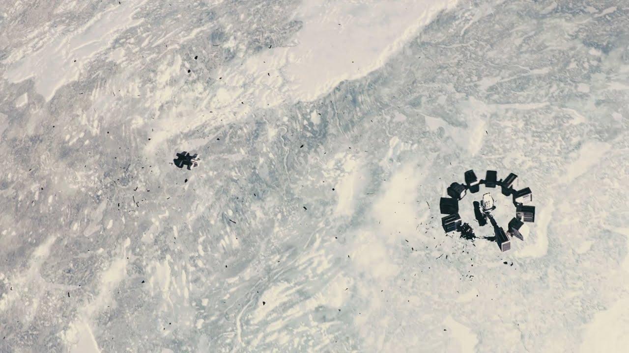 Space Hd Wallpapers 1080p Interstellar Docking Scene Hd Youtube