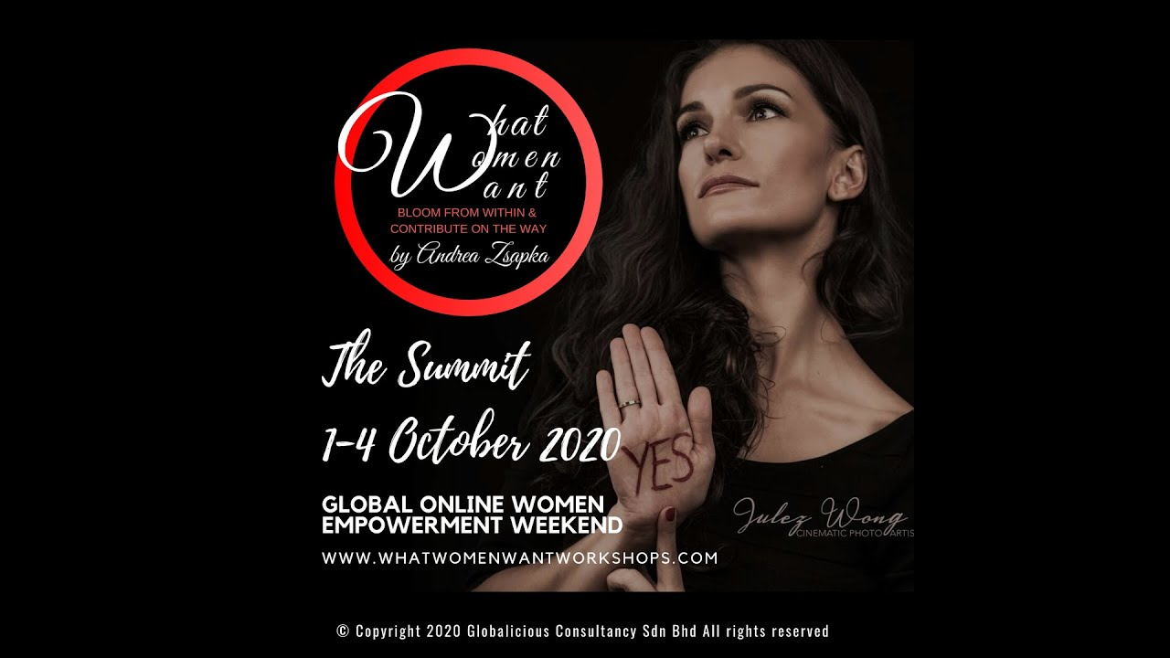 Global Women Empowerment Summit a personal challenge to Empower you