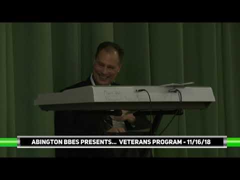 Abington Beaver Brook Elementary School Veterans Day Appreciation Ceremony - 11/16/18