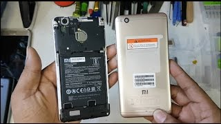 How to open Xiaomi Redmi 4A Back Cover || very easily || First see full video