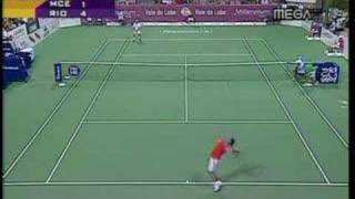 John McEnroe Vs Marcelo Rios (senior tour)