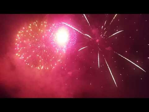 Huntingdon Racecourse Fireworks Finale 2016