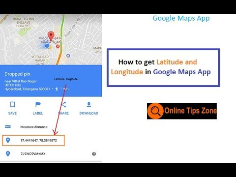 How to get Latitude and Longitude in Android