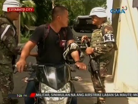 24 Oras: Pwersa ng militar sa Maguindanao, naka-red alert; ilang checkpoint, nakapwesto na