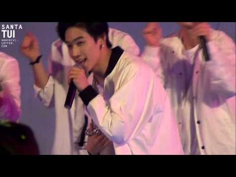 [fancam]150410 Fashion Power in Chongqing Focus JB