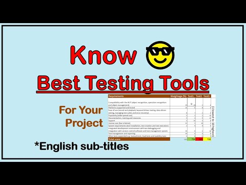 How to select automated testing tools