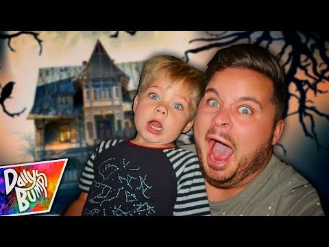KIDS FIRST HAUNTED HOUSE! 👻
