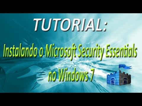TUTORIAL - Instalando o Microsoft Security Essentials no Windows 7 (FullHD)