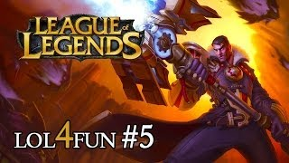 League of Legends - LOL 4 FUN #5 PL ( LOL PL, Jayce, PLAY FOR FREE )