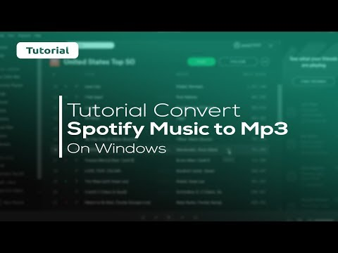 [How to] CONVERT SPOTIFY MUSIC to MP3 (Easy 100% Working)