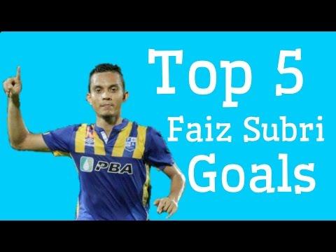 Top 5 Faiz Subri Goals