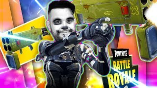 Fortnite : Let's try the New Missile Launcher with the New Skeleton Skin 👍