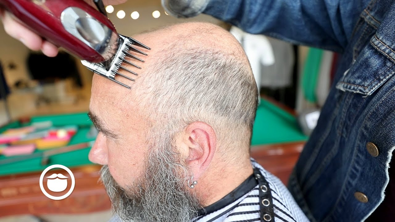 The Best Haircut For Balding Men Cxbb Vip Youtube