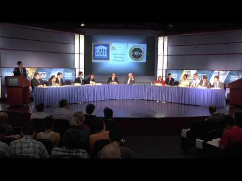 War Powers Commission Public Debate