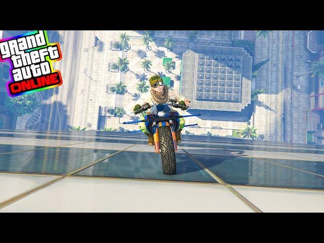 Gta 5 ITA - Scalare i grattacieli con la moto volante!!