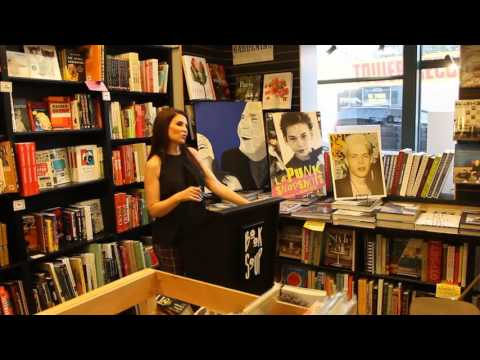 Brenda Perlin speaks about the 80s punk scene at Book Soup West Hollywood, 8/5/2016