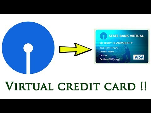 How To Make SBI Virtual Credit Card Online - Creative Bijoy