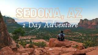 Sedona, Arizona 2 Dąy Solo Camping and Hiking