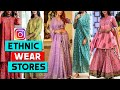 Best Instagram Stores For Indian Ethnic Wear | Instagram Shopping India | Prettify By Surbhi